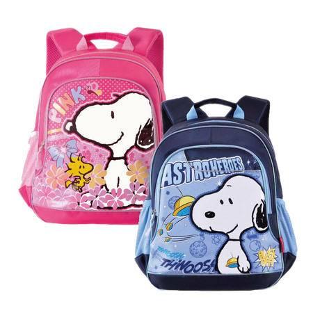 包邮 史努比一至四年级学生书包 双肩背包 2014新款B0032
