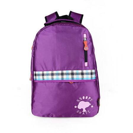 包邮 专柜正品史努比时尚休闲双肩包中小学生书包9119