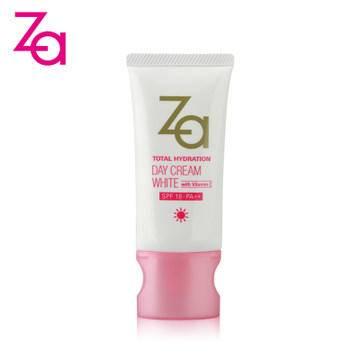 新品 Za/姬芮 多元水活透白防护日霜SPF18/PA++ 50g