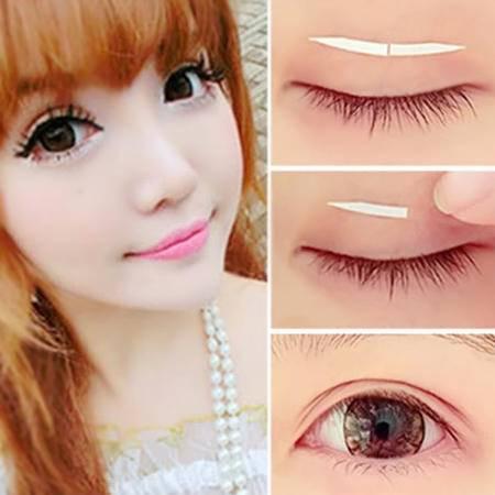 满百包邮 化妆专用 化眼影 不反光 芳龄隐形双眼皮贴 易成型120回