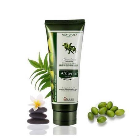 安安金纯橄榄油毛孔细致洁面乳150g