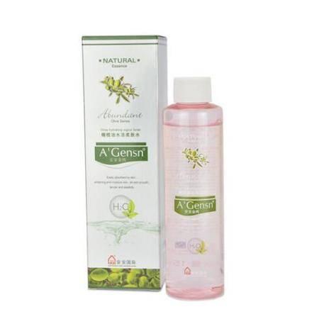 安安金纯橄榄油水活柔肤水150ml柔润美白保湿