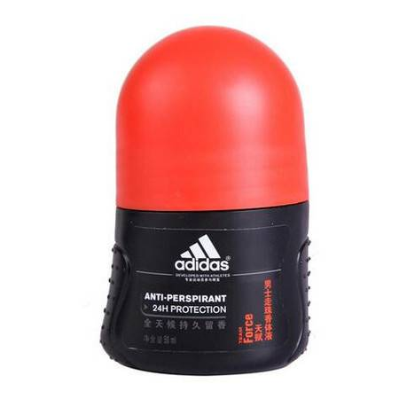 Adidas 阿迪达斯 男士 走珠香体液 天赋 50ml 阳刚木质香型