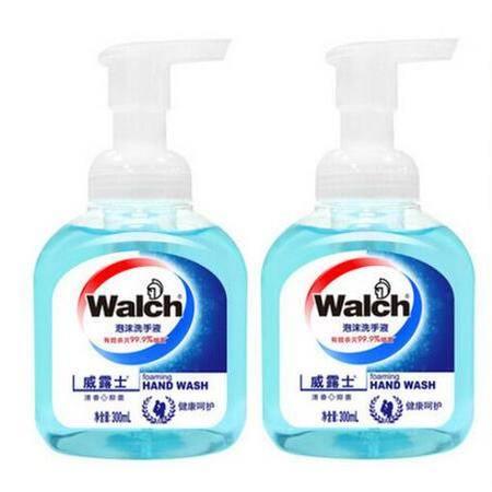 威露士泡沫洗手液(清爽洁净)300ml*2瓶