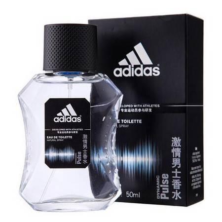 Adidas 阿迪达斯 男士 香水 激 情 50ml 阳刚的清新香型