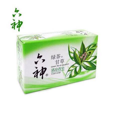 六神清凉香皂除菌皂90g 多种香型随机发货