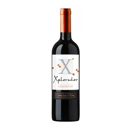 开拓者卡麦妮红葡萄酒750ml   智利干露 原瓶进口