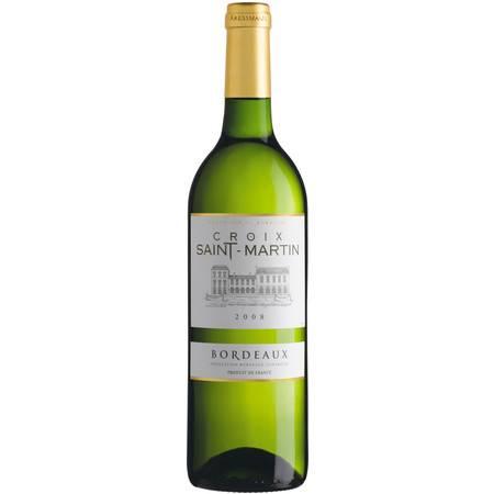 科瑞丝曼圣马丁白葡萄酒750ml  法国波尔多 原瓶进口