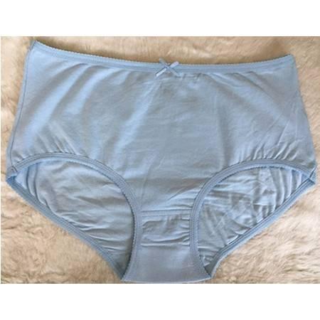奈依女士弹力棉高腰三角裤 提臀收腹 透气舒适