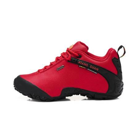 布面情侣款户外运动休闲鞋登山鞋徒步鞋防泼水防滑