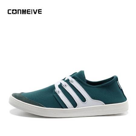 新款休闲透气鞋男单鞋韩版青年百搭帆布鞋