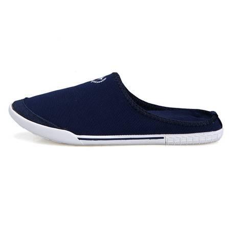 正品新款半拖时尚休闲鞋透气潮流青年帆布鞋