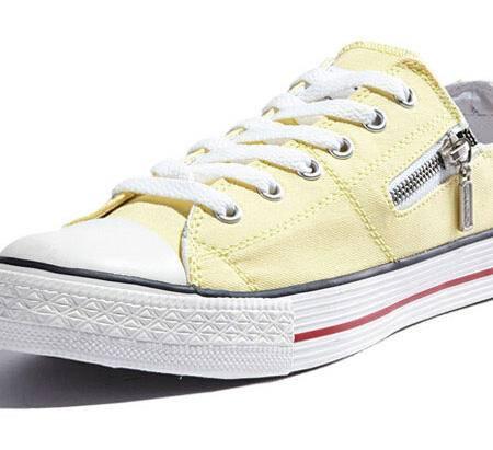 思威琪 新款帆布鞋女 韩版 潮透气学生鞋 厚底低帮休闲鞋纯色女鞋