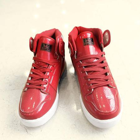 新款休闲鞋男鞋秋冬季韩版潮流男鞋子男士高帮鞋男板鞋街舞鞋