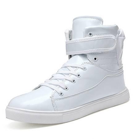 男士潮流英伦高邦棉鞋马丁靴高帮鞋韩版皮鞋休闲男鞋子时尚靴潮鞋