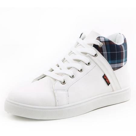 新款透气男鞋子韩版潮鞋男士休闲鞋英伦秋季潮流板鞋男式内增高鞋