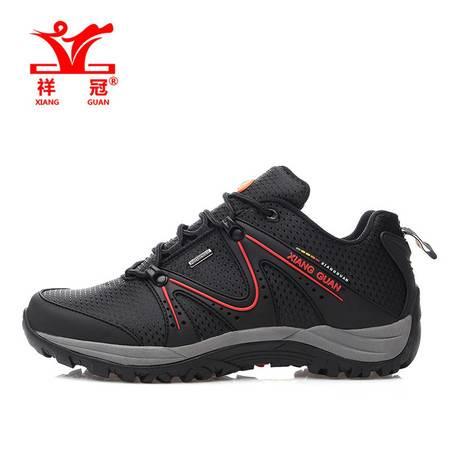 全新上市春季款男鞋户外登山鞋徒步鞋防泼水透气鞋减震