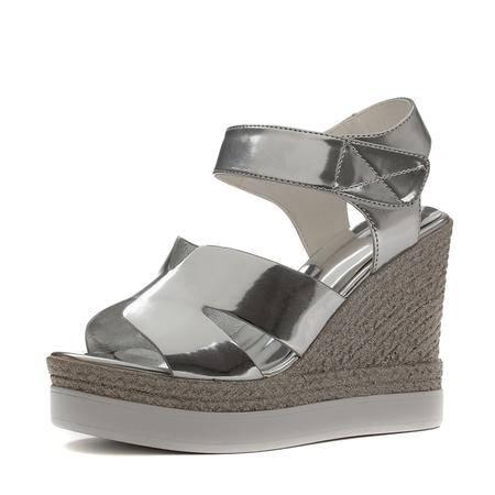 王菲儿2015夏新款坡跟凉鞋 女鱼嘴高跟鞋防水台厚底鞋凉鞋女鞋