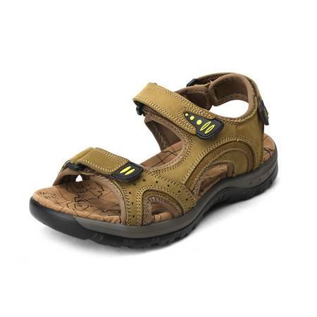 夏季新款防滑男鞋休闲时尚沙滩鞋凉鞋
