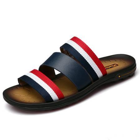 夏季新款男士舒适拖鞋