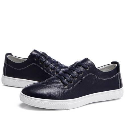 夏季新款时尚休闲男鞋板鞋平底鞋