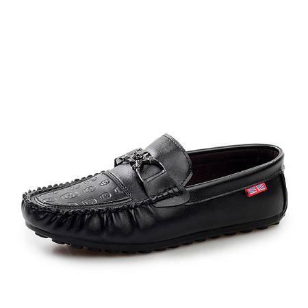 马威斯途2015秋夏季韩版时尚豆豆鞋男英伦休闲鞋男士皮鞋套脚懒人鞋驾车鞋