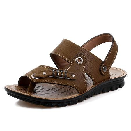 马威斯途2015夏季拖鞋男人字拖男韩版沙滩休闲夹脚皮凉拖鞋潮男拖鞋防滑