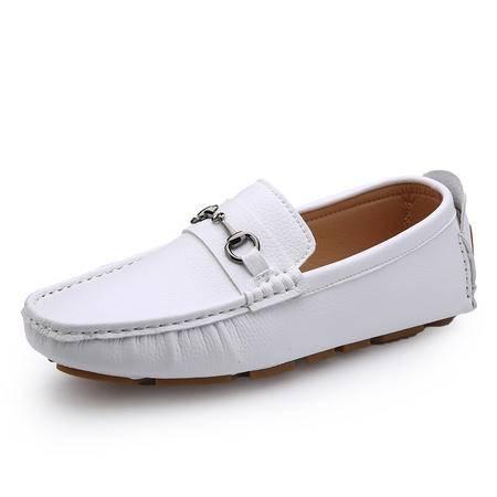 马威斯途2015春夏季豆豆鞋男鞋休闲鞋男士真皮鞋英伦驾车鞋潮流懒人单鞋子