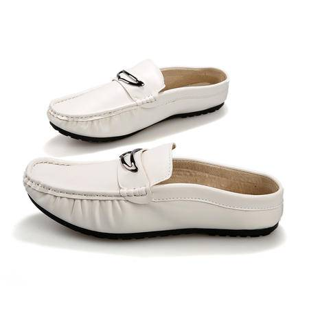 马威斯途2015夏季男士时尚男拖韩版潮拖鞋包头拖透气无后跟半拖鞋懒人拖鞋