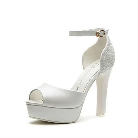 王菲儿2015新款性感凉鞋时尚高跟夜店女鞋粗跟镂空凉鞋