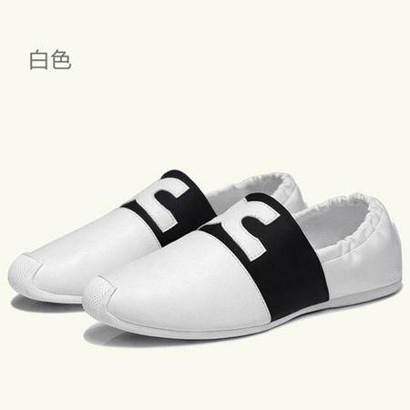 古奇天伦 低帮休闲女鞋 平底浅口女鞋 时尚女单鞋子