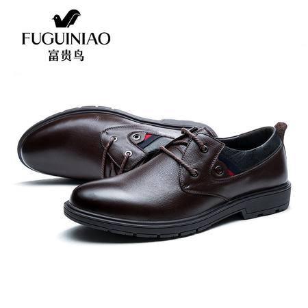 休闲皮鞋真皮低帮鞋商务工装鞋大头鞋春秋冬季复古男鞋