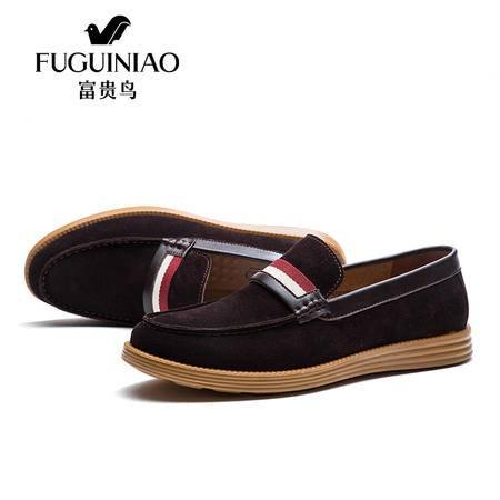 皮鞋真皮超软透气单鞋潮流板鞋秋款日常休闲鞋韩版