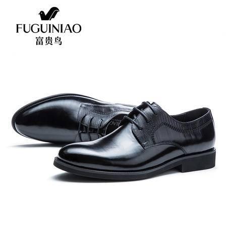 皮鞋系带职场男婚鞋新款头层牛皮男鞋商务休闲透气