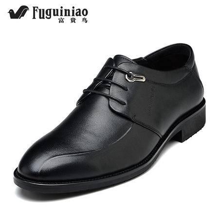 富贵鸟 平跟脚蹬低帮鞋鞋子耐磨新款新品低帮系带驾车