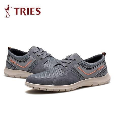 男鞋正品男士休闲鞋春夏季新款潮运动鞋网面透气旅游鞋子