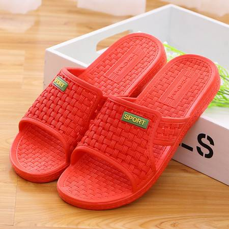 男女家居家客拖鞋 防滑浴室夏季平跟塑料地摊凉拖鞋