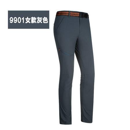 情侣薄款户外速干裤 男女长裤新货夏季清凉透气功能微弹