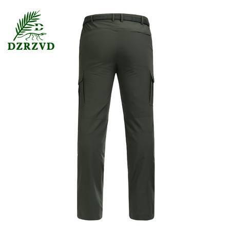 男裤高级塔丝绒面料 速干户外运动防风防水休闲裤