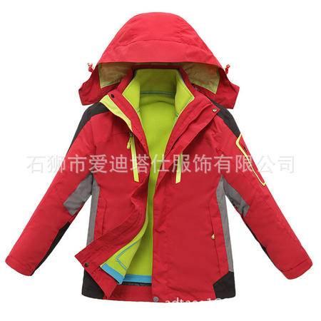 户外两件套儿童款冲锋衣