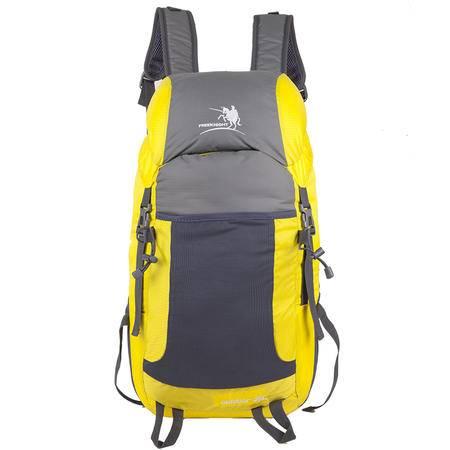 新款大容量35L户外旅行双肩背包 防水尼龙折叠收纳背包