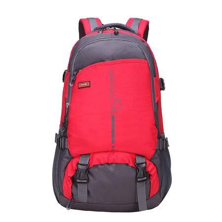 新款双肩背包韩版学生书包休闲潮防水运动包户外登山旅行包