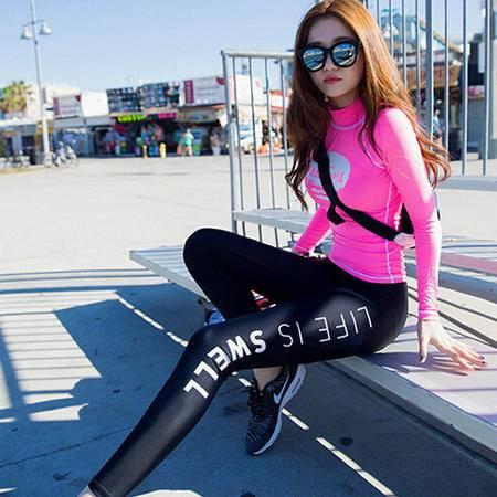 伽服套装女紧身运动健身跑步衣服沙滩骑行服套装