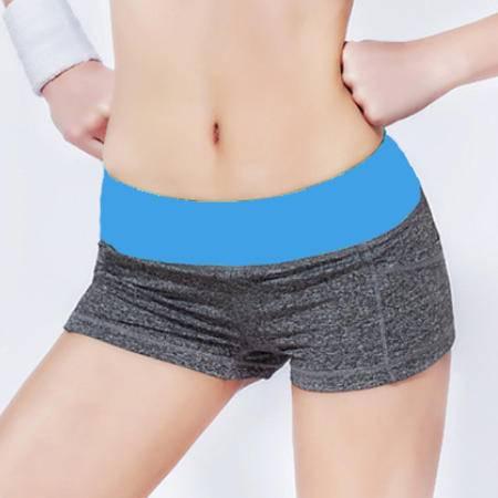韩版瑜伽服女速干运动透气跑步短裤动感单车健身三分裤