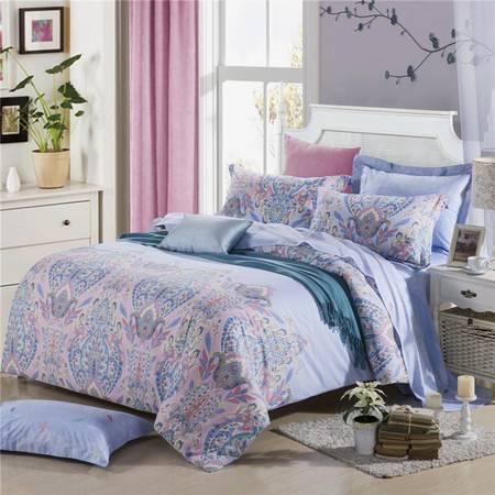 床上用品被枕套新款 全棉天丝13372活性四件套