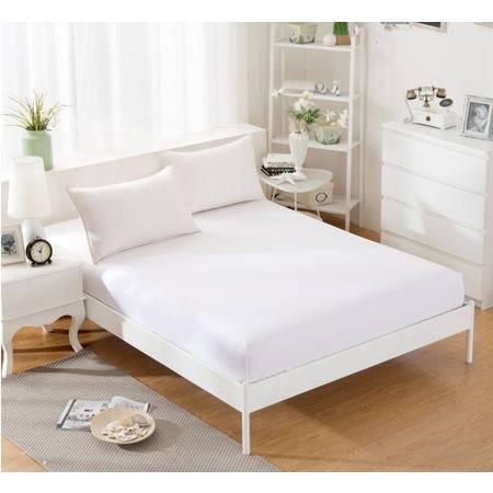 床上用品被枕套13372纯色全棉单床笠