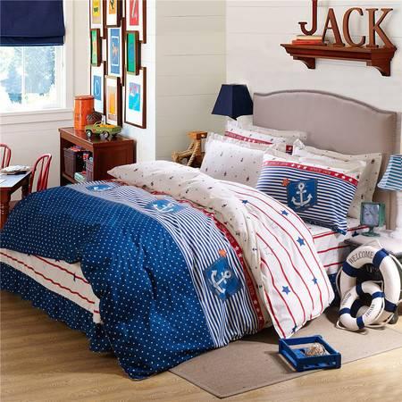 床上用品被枕套12868床裙式多规格四件套