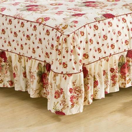 床上用品被枕套韩版床笠式床罩四件套