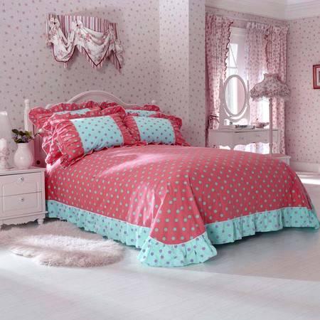 床上用品被枕套韩版蝴蝶结床单式四件套