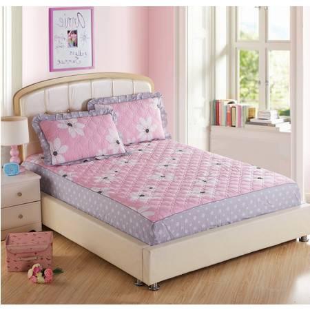 床上用品被枕套夹棉绗缝床笠四件套2